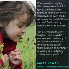 Read an interview with James Lowen, author of A Summer of British Wildlife here… British Wildlife, Summer Sky, Interview, This Book, Author, Reading, Nature, Naturaleza, Writers