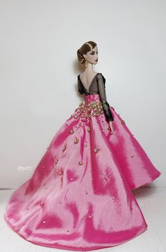 Fashion Royalty Outfit-Think Pink Dress. | Flickr - Photo Sharing!