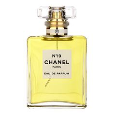 Chanel No.19 Eau de Parfum  | More here: http://mylusciouslife.com/shopping-where-to-buy-new-and-genuine-vintage-chanel-items-online/