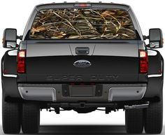 Duck Waterfowl Camo Ver1 Painting Rear #Window Graphic #Decal for #Truck Van Car, View more on the LINK: http://www.zeppy.io/product/gb/3/129816613/