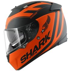 Shark Speed-R Avenger Motorcycle Helmet Description: The Shark Speed R Avenger Motorbike Helmets are packed with features… Specifications include EASYFIT system for comfortable use with glasses Extensive wind-tunnel testing to per fect aerodynamics and ventilation ... http://bikesdirect.org.uk/shark-speed-r-avenger-motorcycle-helmet-17/