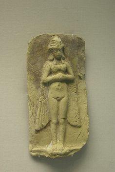 Sumerian winged Inanna/ Ishtar