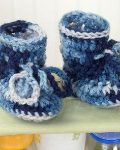 c7a4c61f0355a 8 Best Crochet Baby Booties images | Crochet baby booties, Baby ...