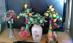 little arrangements for any occasions..flowers made of soap