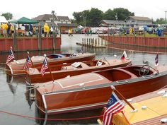 Wooden Boat Show Hessel, Mi