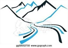 Image result for valley drawing