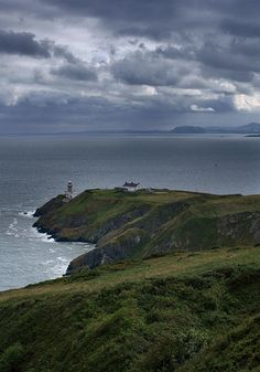 Old Bailey Light from Howth Head Summit north suburbs Dublin -- potential day trip