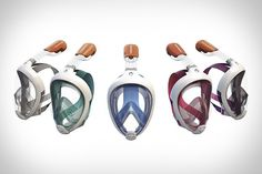 Easybreath Snorkeling Mask - love the combination here! I already have a no leak snorkel but this looks amazing, and only $55. Definitely on the list when I go snorkeling next...