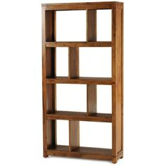Zen Double Bookcase - Honey (Epping)