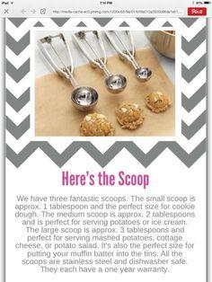 Pampered Chef Scoops! New.pamperedchef.com/pws/bridgettrandolph