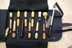 Leatherwork, great idea for tools