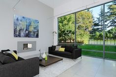 Palo Alto 2 - contemporary - living room - san francisco - Maydan Architects, Inc.