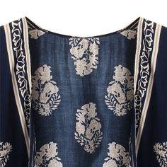 Loose Batwing Sleeve Kimono Cardigan