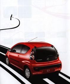 https://flic.kr/p/Fk4v5X   Citroen C1;  2005_2   car brochure by worldtravellib World Travel library