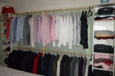 My Shirts and suits needed organising