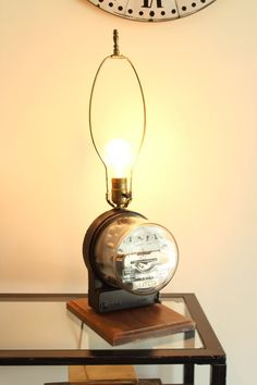Collectible Meter Lamp Moves When Light is On by louloumint