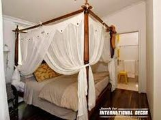 Four Poster Bed With Curtains circa 1600 style four poster bed, carved 4 poster bed | furniture