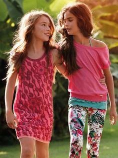 Liu-Jo SS14 moda de verano para niñas llena de color