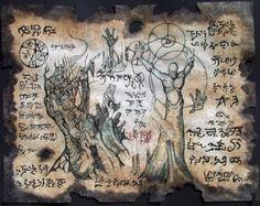 XOTH TITANS cthulhu larp Necronomicon Fragment magick by zarono