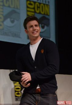 Chris Evans (Captain America), San Diego Comic-Con 2013 | Marvel.com