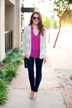 Violet, Cream + Black | Dallas Wardrobe