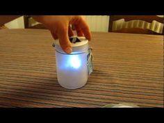 Fairy Jar - Fairies in a Jar - Magical lights. Solar powered twinkle lights inside frosted jar.