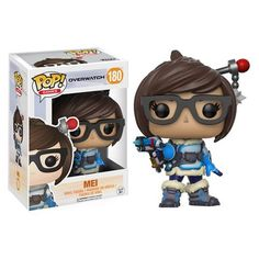 Release Date: May 2017 Your favorite characters from Blizzard Entertainment's Overwatch get the Pop! Vinyl treatment! This Overwatch Pop! Vinyl Figure features Mei as an adorable stylized figure. Stan