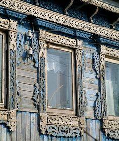 Нижегородские наличники. Nizhny Novgorod