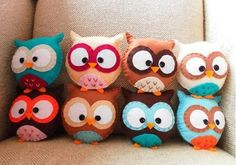 Cute Crafted Owls