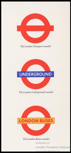 History of the roundel - Information resources from the London Transport Museum
