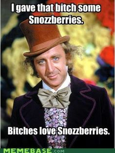 I always knew there was something unsettling about Mr. Wonka. His teeth were too nice to be living on candy.