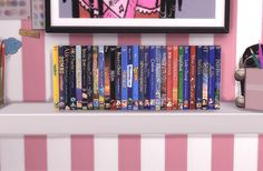 DVD Movie Sets for The Sims 4
