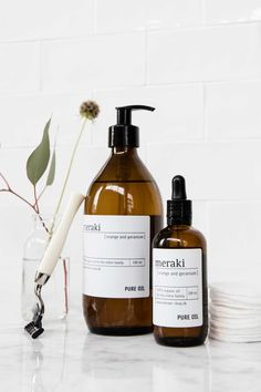 Meraki - Danish lifestyle and skin care with natural products without parabenes and SLS