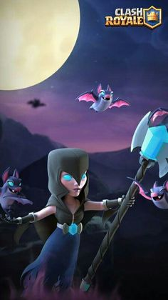 Night witch Preview Clash Of Clans, Video Games, Witch, Fan Art, War, Free Android, Anime, Pictures, Wallpapers
