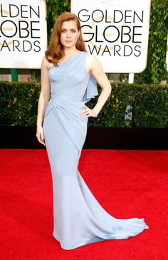 The Best Dressed at the 2015 Golden Globes - Amy Adams in Versace