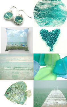 ocean green by Daiva on Etsy--Pinned with TreasuryPin.com