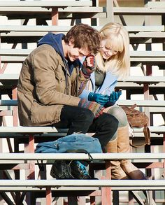 Emma Stone and Andrew Garfield the best couple of Hollywood!