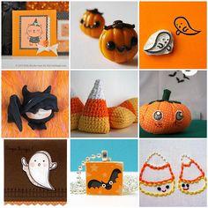 Halloween cuties #halloween #cute #craft #kawaii