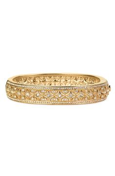 Nadri Crystal Scallop Bangle