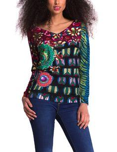 Desigual Damen Pullover LUCILA, Grün (Antique Green 4055), Gr. 40 (Herstellergröße: XL) Colourful Outfits, Colorful, Pullover, Pulls, Jumper, Casual Dresses, Boutique, Clothes For Women, Blouse