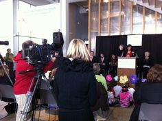 Pittsburgh Children's Museum press conference.