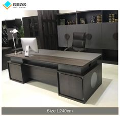 Source office furniture guangzhou China office furniture modern desk on m. Corporate Office Design, Office Table Design, Office Furniture Design, Indian Home Design, Modern Home Interior Design, Modern Office Desk, Office Desks, Modern Executive Desk, Computer Desks For Home