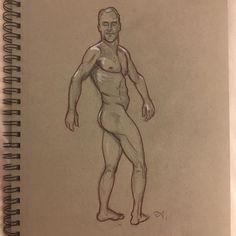 Anton Uhl (@artofanton) • Instagram photos and videos Red Pencil, Male Figure, Gay Art, Anton, Erotic Art, Figurative Art, Nude, Photo And Video, Drawings