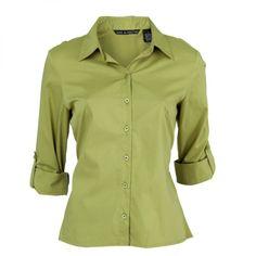 Blusa Manga Larga Verde - Casual - Blusas - Ellas