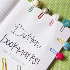 Cute bookmarks for your kids! Follow @Jalyn {iheartnaptime.net} and learn how to make some fun and artistic bookmarks!