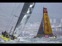Cape Town In-Port Race | Volvo Ocean Race 2014-15 - YouTube