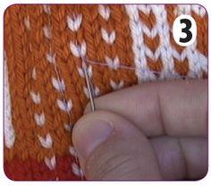 Steeking   Knit Picks Tutorials