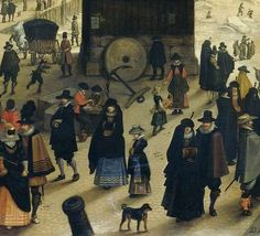 The Kranenhoofd on the Scheldt, Antwerp (Winter Pastime on the Scheldt in Antwerp), Sebastiaan Vrancx, 1622 - Winter en wintersport-Collected Works of Elisabeth van der Vijgh - All Rijksstudio's - Rijksstudio - Rijksmuseum