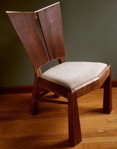 Wedge chair by Richard makes furniture