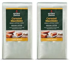 Archer Farms 12 Ounce Each Ground Coffee  2 Bags Caramel Macchiato >>> Click image for more details.